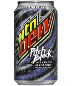 Mountain Dew Pitch Black, 0355l, США