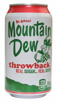 Mountain Dew Throwback, 0.355l, США