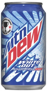 Mountain Dew White Out, 0.355l, США
