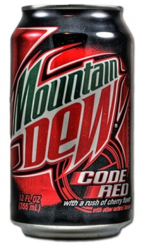 Mountain Dew Code Red, 0.355l, США