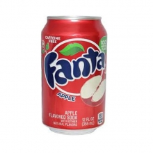Fanta Apple, 0.355l, США