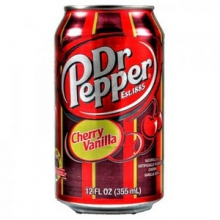 Dr.Pepper Cherry Vanilla, 0.355l, США