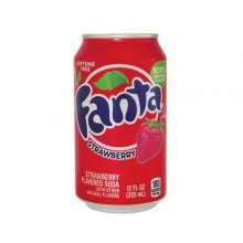 Fanta Strawberry,  0.355l, США