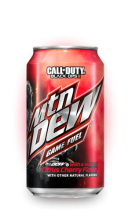 Mountain Dew Game Fuel Citrus Cherry Soda, 0.355l, США