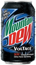 Mountain Dew Voltage, 0.355l, США